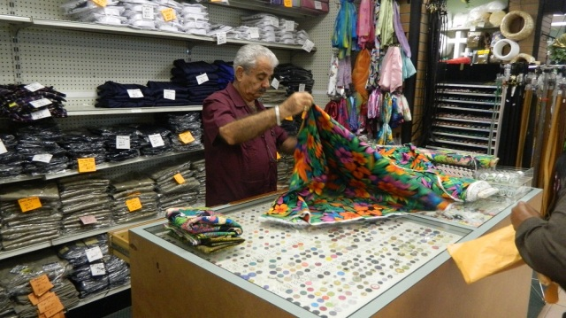BUYING FABRIC